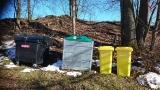 Sběrná místa na  separovaný odpad